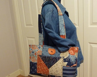 Quilt Square Shoulder Bag
