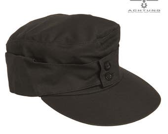 Black M43 Moleskin Mountain Cap