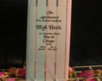 HIGH HEELS, a Floral Fougere Perfume, with Sandalwood, Jasmine and Amber Very Carefully Hand Made by The Apothecary