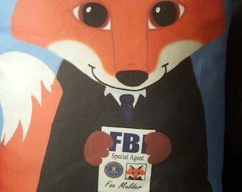 Fox Mulder Pillow Pal