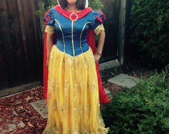 Snow withe inspired adult costume.