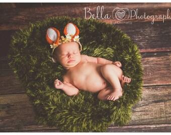 Grass Blanket Photo Prop Made To Order Nest Filler Basket Filler Bowl Layering Blanket Reversible Textured Layering Blanket Photo Prop