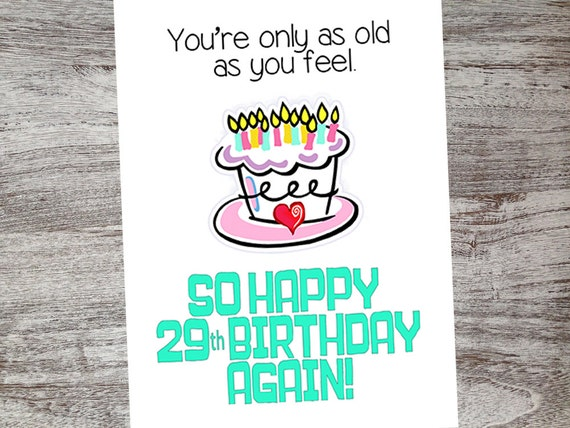 Funny birthday cards getting old birthday humor over the hill like this item bookmarktalkfo Image collections