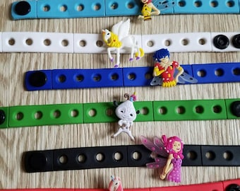 10  Mia And Me Silicone Bracelets Party Favors