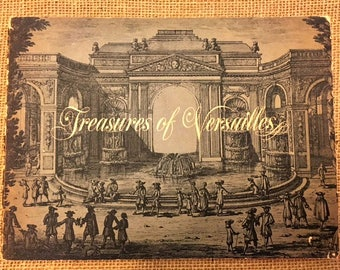 """Lovely Vintage 1962-1963 """"Treasures of Versailles,"""" Exhibition from France Organized by the French Government"""