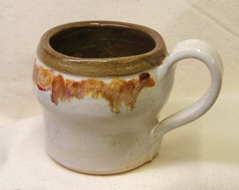 Pottery Mug Handmade Kitchen Coffee Cup Stoneware Teacup