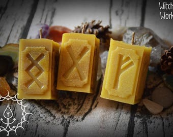 Rune candles set (free shipping)