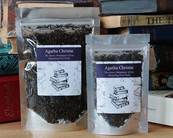 Agatha Christie Inspired Tea - Author -   - Tea Gift - Literary Gift - Bookish Gift - Author Gift - Tea