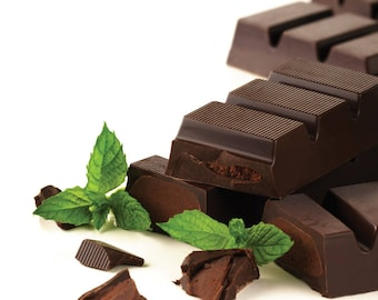 Chocolate Mint Cosmetic Fragrance Oil Soap, Candles, Wax Melts, Bath and Body Products