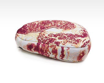 Premium marbled Beef................Pillow - Free shipping world-wide