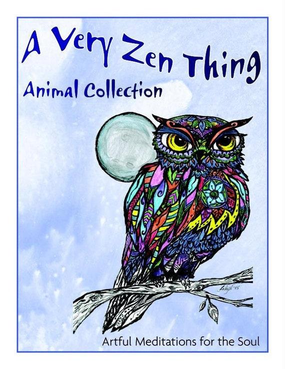 Animal Coloring Book 20 Printable Sheets Digital