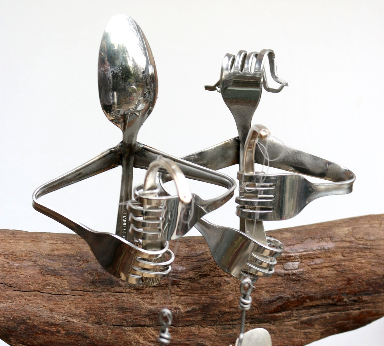 Anniversary Gift, Fishing Trip,husband And Wife, Spoon Fish Wind ...