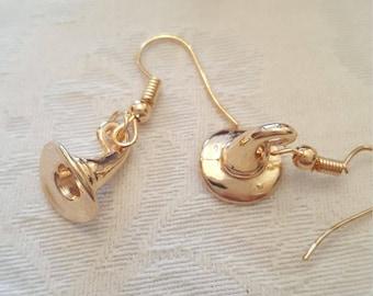 Earrings Wizard Hat, Harry Potter Inspired Dangle Earrings, Quirky Gift