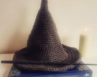Adult Wizard Hat Crochet Pattern (UK)