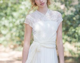 Rustic wedding dress   Etsy