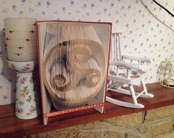 Pagan triple spiral Book folding pattern 318 folds