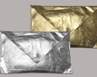 Envelope from Jacron gold or silver Evening Bag