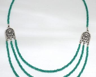 "Roman Necklace ""Livia"""