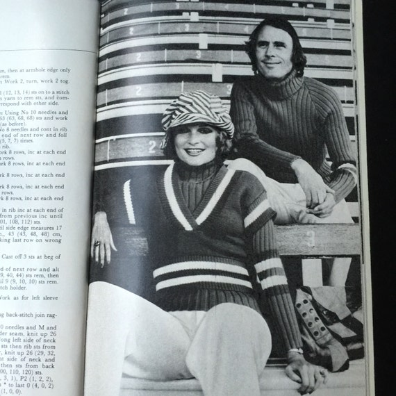 Herald and sun dollar knitting book family designs 1970s from sold by weseatree fandeluxe Choice Image