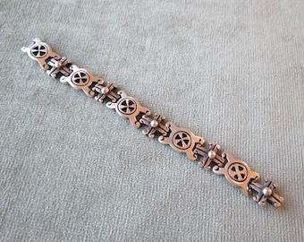 Spratling Style Mexican Bracelet / Sterling