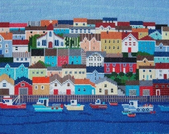 Busy Harbour by Nora Yuen--LB10266