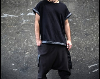 Collector Long (man pants-man clothing-posapocalyptic clothing-apocalyptic fashion-industrial fashion-loose pants-underground-alternative)