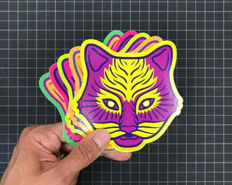 Cat Spirit Stickers - 3 pack