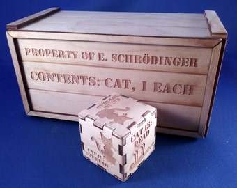 Schrodinger's Cat Box Decision maker, Quantum Physics paradox