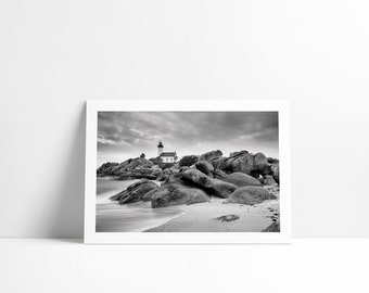 The Pontusval lighthouse, Fine Art print signed and numbered