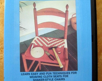 The Shaker Chair, Weaving Patterns & Techniques DVD