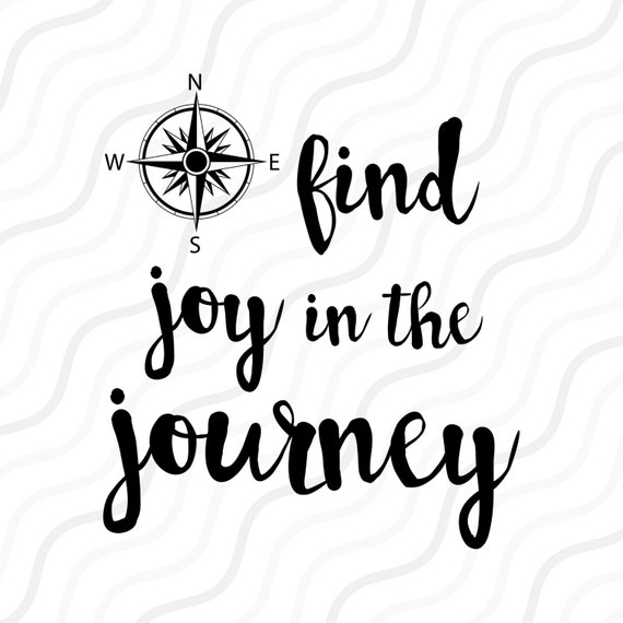 Find Joy In The Journey Svg Compass Clipart Compass Svg Cut