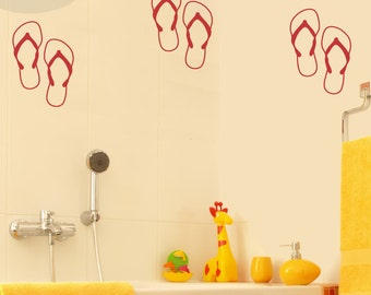 Flippy Floppies - Vinyl Wall Decal