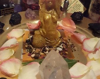 Golden Goddess (For Self LOVE, POwer, Rejuvenates the divine Feminine)