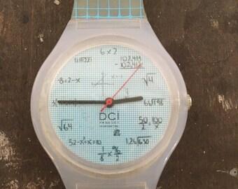 Blue Mathematics Nerd Watch