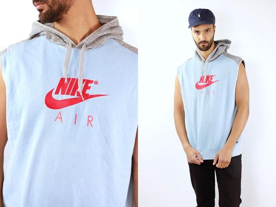 Nike Sweatshirt Nike Jumper Nike Hoodie 90s Sweatshirt Vintage Sweatshirt Vintage Jumper 90s Jumper Sleeveless Jumper Sleeveless Hoodie