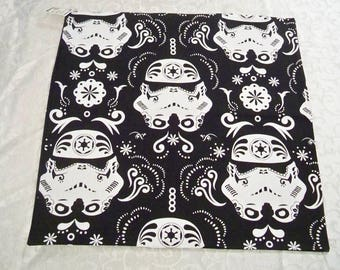 """PC-125  18""""x18""""  Star Wars Stormtroopers pillow cover"""