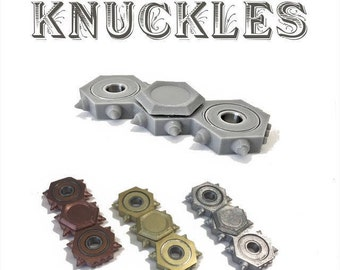 3D SPINNER - Fidget Toy - KNUCKLES SPINNER