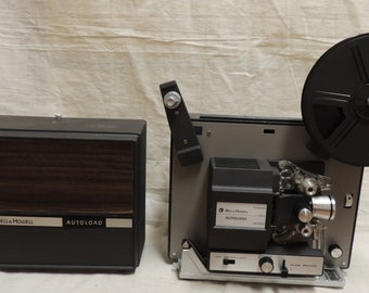 Vintage super 8 mm Bell and Howell Auto load movie projector