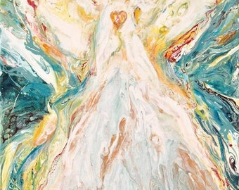 Original Angel Painting-'Angel Essence 6'