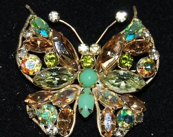 signed regency butterfly