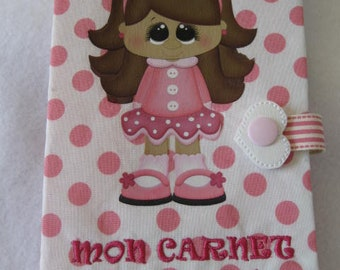 """Protects health, cotton, embroidery, heat transfer, 9 """"wide x 71/4"""" high (22.8 cm x 18.7 cm) size fold 4.5 """"wide (11.5 cm)"""