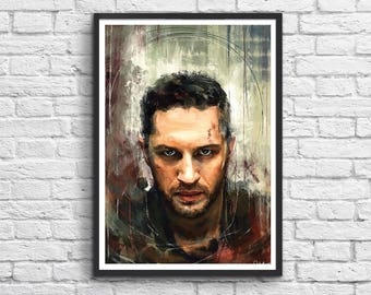 Art-Poster 50 x 70 cm -  Mad Max x Tom Hardy