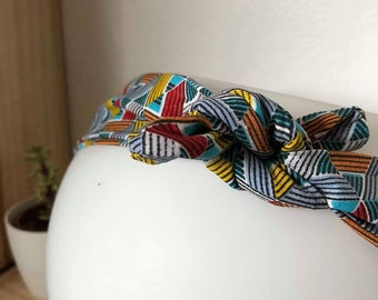 Noeur colorful Aztec patterned headband