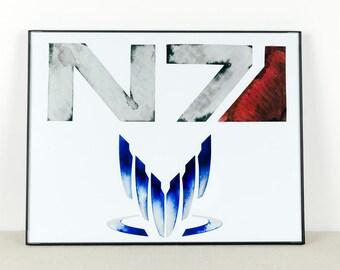 Mass Effect Art: N7