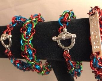 Chainmale Bracelet pattern 2