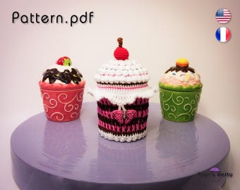 Pattern - Cupcake Pot