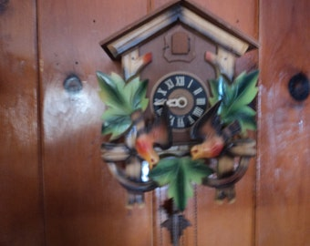 West German 1 Day Coo Coo Clock