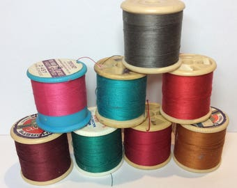 Sylko Trylko Embassy SPOOLS Thread Craft Mixed Media Art Sewing Embroidery