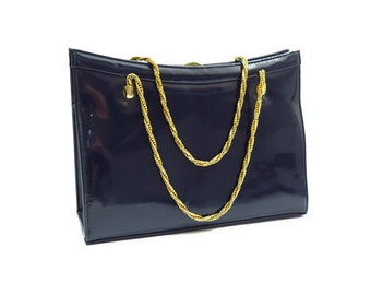 Vintage Patent Leather Handbag