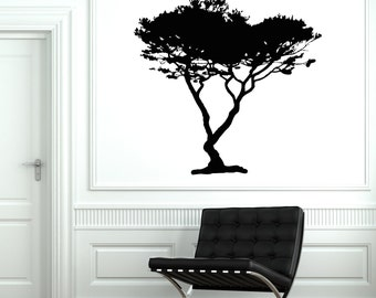 Wall Vinyl Decal Tree Branch Family Decor For Bedroom 2061di